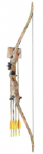 SILCO Archery Camo Family / Youth Recurve Bow Set 20Lbs (extra arrows)